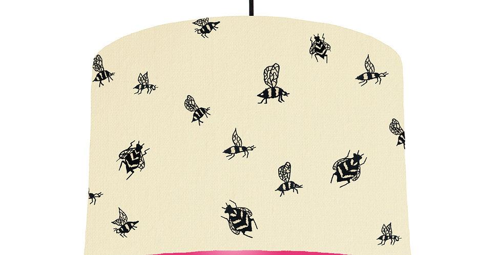 Bumble Bee - Natural & Magenta