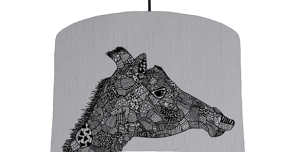 Giraffe - Light Grey Fabric