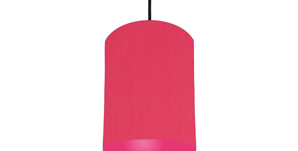 Cerise & Magenta Pink Lampshade - 15cm Wide