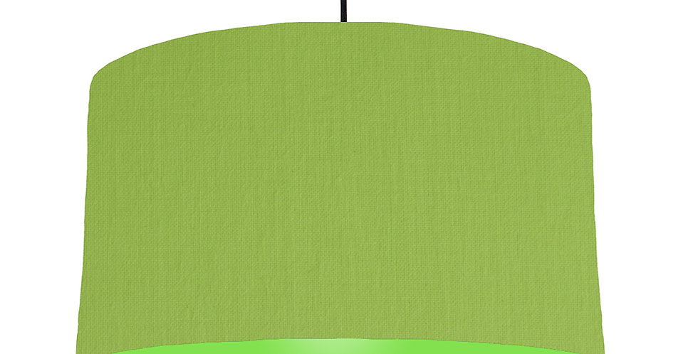 Pistachio & Lime Green Lampshade - 50cm Wide
