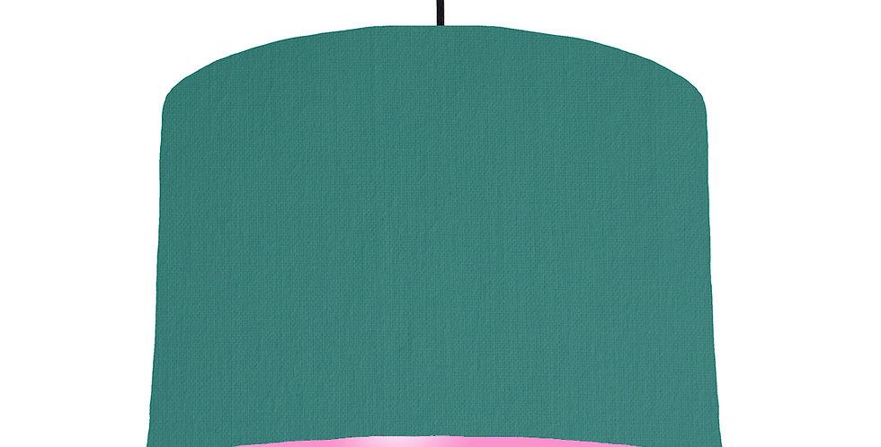 Jade & Pink Lampshade - 30cm Wide