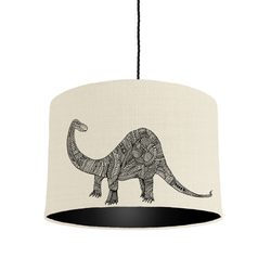 Black Dinosaur lampshade