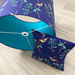 Bird lampshade