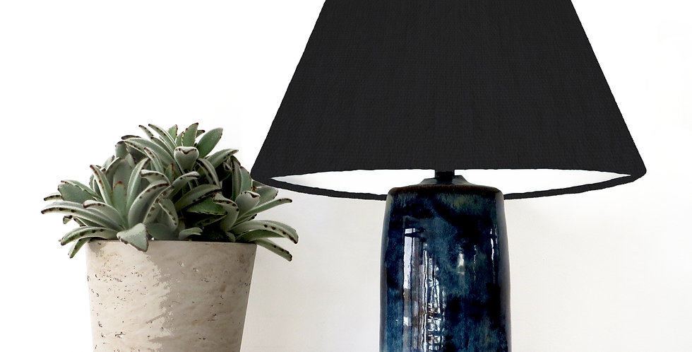 Conical Lampshade (15Tx45Bx30H) - White lining