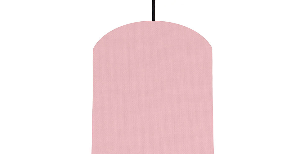 Pink & Dark Grey Lampshade - 20cm Wide
