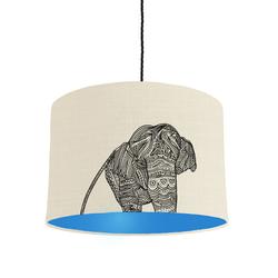 Elephant lamshade
