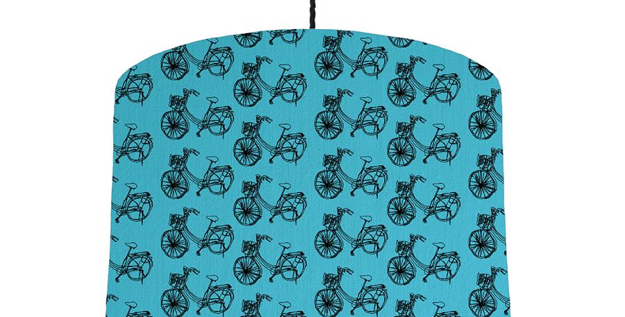 Bike - Turquoise & White