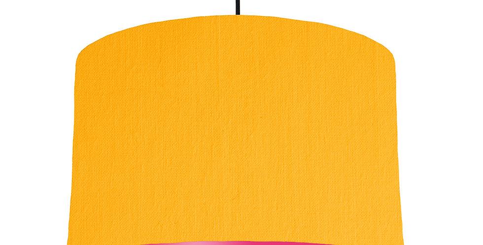 Sunshine & Magenta Lampshade - 40cm Wide