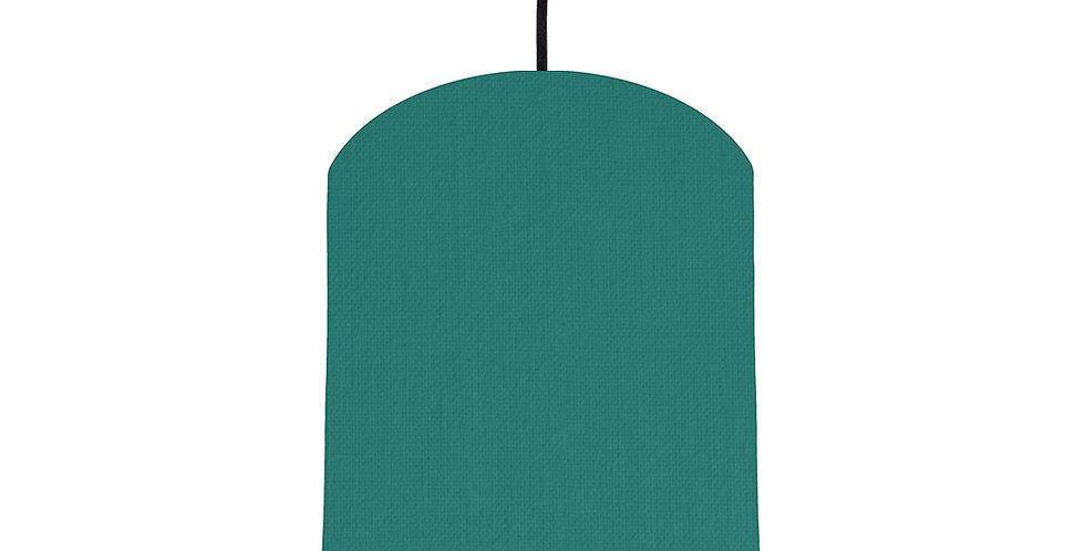 Jade & Purple Lampshade - 20cm Wide