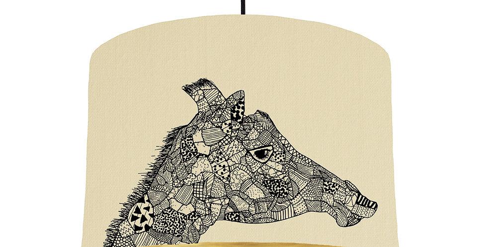 Giraffe - Natural & Brushed Gold Lining