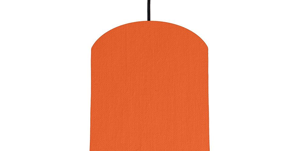 Orange & Light Blue Lampshade - 20cm Wide