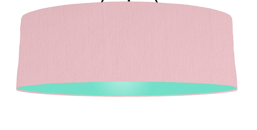 Pink & Mint Lampshade - 100cm Wide