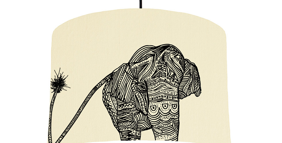 Elephant - Natural & White Lining