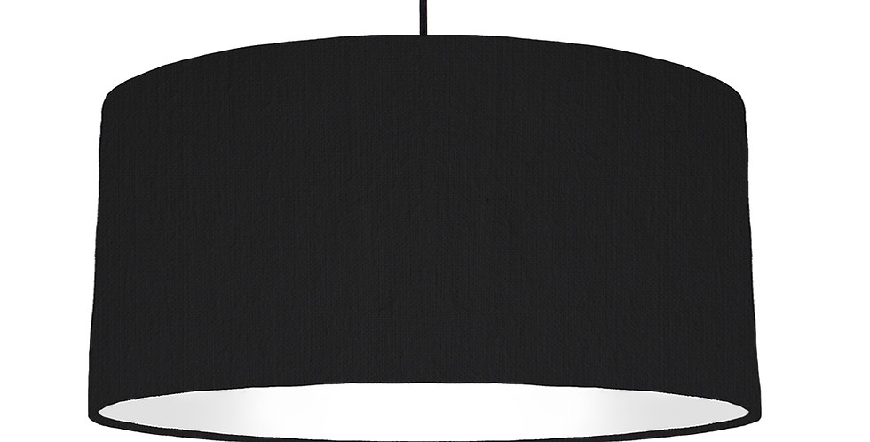Black & White Lampshade - 60cm Wide