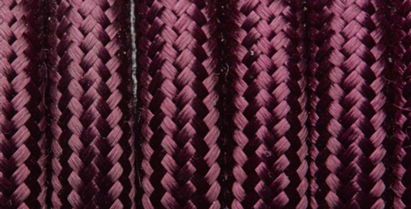 Plum - Industville Round Fabric Cable