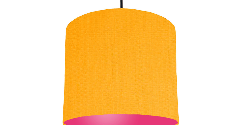 Sunshine & Magenta Lampshade - 25cm Wide