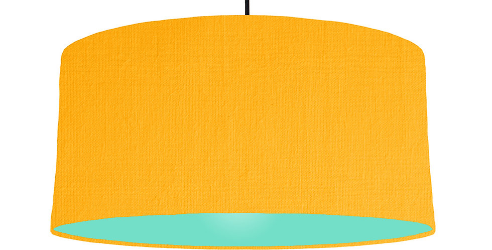 Sunshine & Mint Lampshade - 60cm Wide