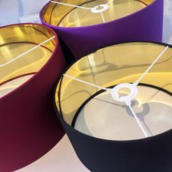 Metallic Gold Lampshades