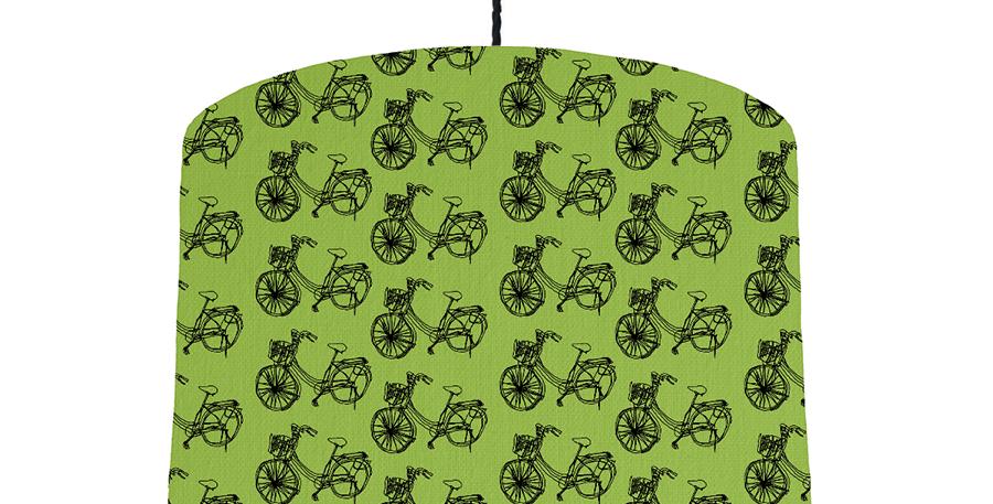 Bike - Pistachio Green & Gold Mirror Lining