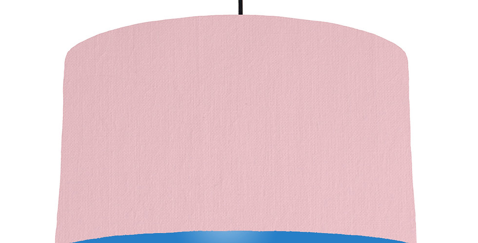 Pink & Bright Blue Lampshade - 50cm Wide