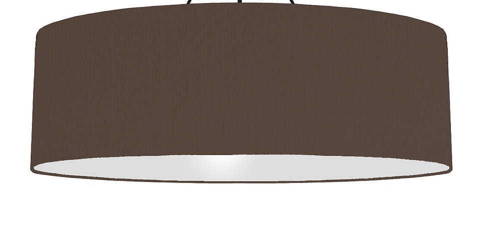 Brown & Light Grey Lampshade - 100cm Wide