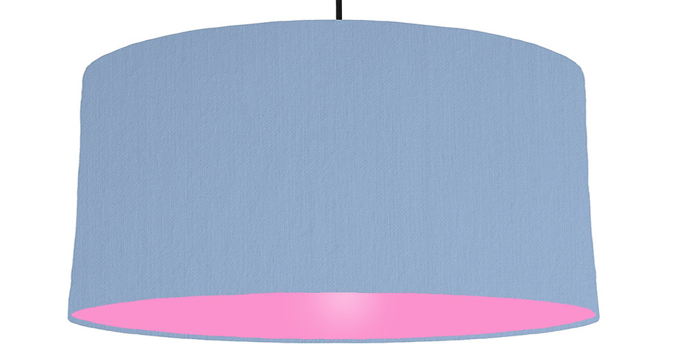 Sky Blue & Pink Lampshade - 60cm Wide