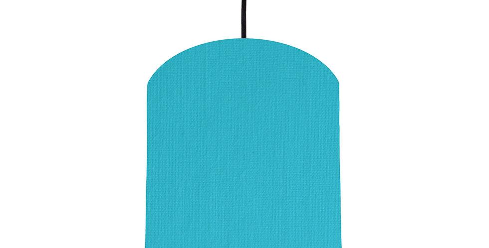 Turquoise & Magenta Lampshade - 20cm Wide