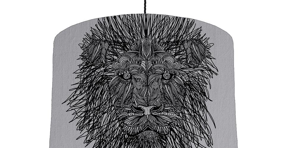 Lion Shade - Light Grey Fabric