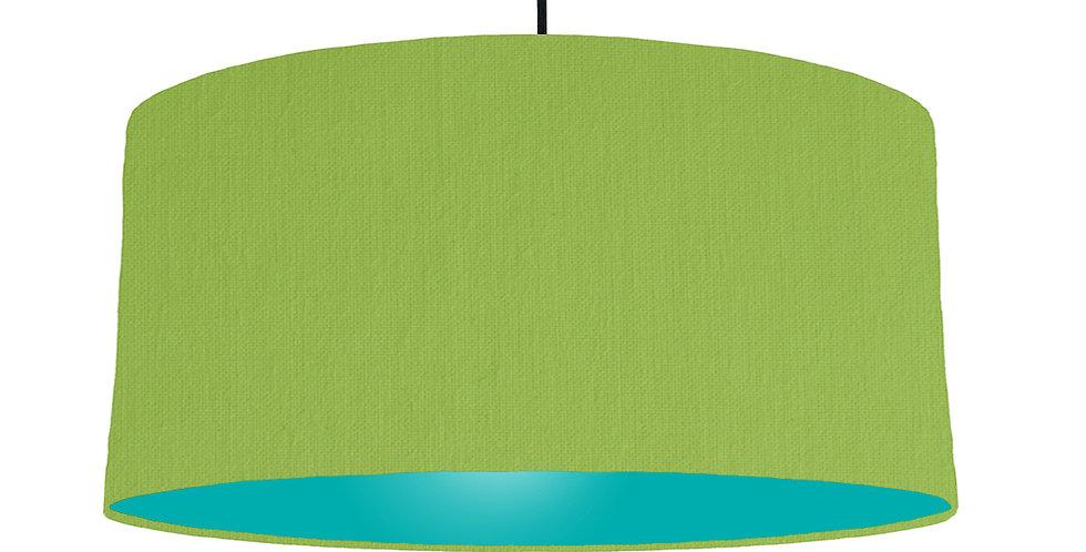 Pistachio & Turquoise Lampshade - 60cm Wide