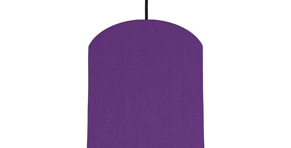 Violet & Magenta Lampshade - 20cm Wide