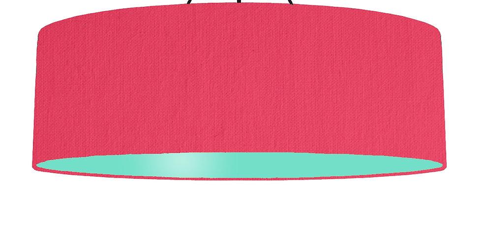 Cerise & Mint Lampshade - 100cm Wide