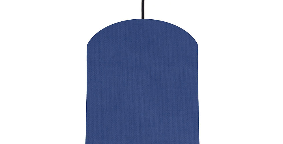 Royal Blue & Burgundy Lampshade - 20cm Wide