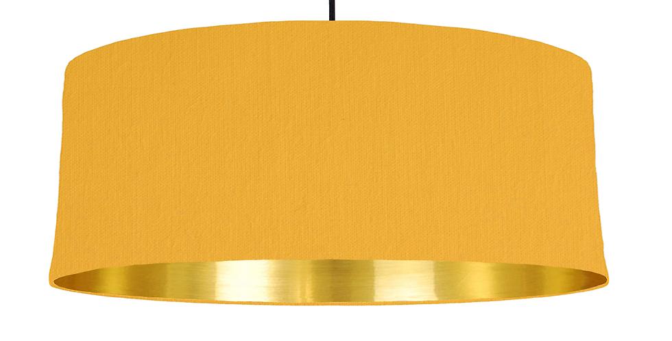 Sunshine & Gold Mirrored Lampshade - 70cm Wide