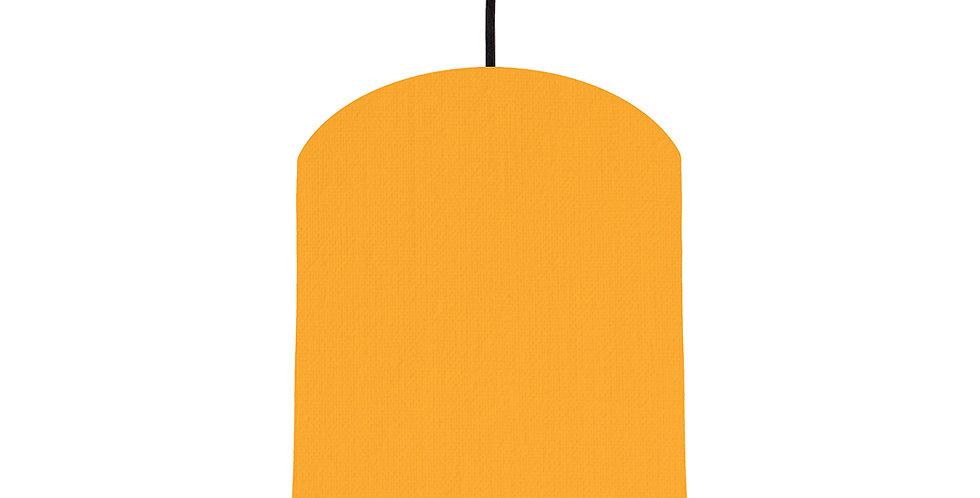 Sunshine & Brushed Gold Lampshade - 20cm Wide