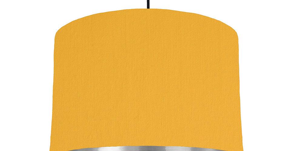 Sunshine & Silver Mirrored Lampshade - 30cm Wide