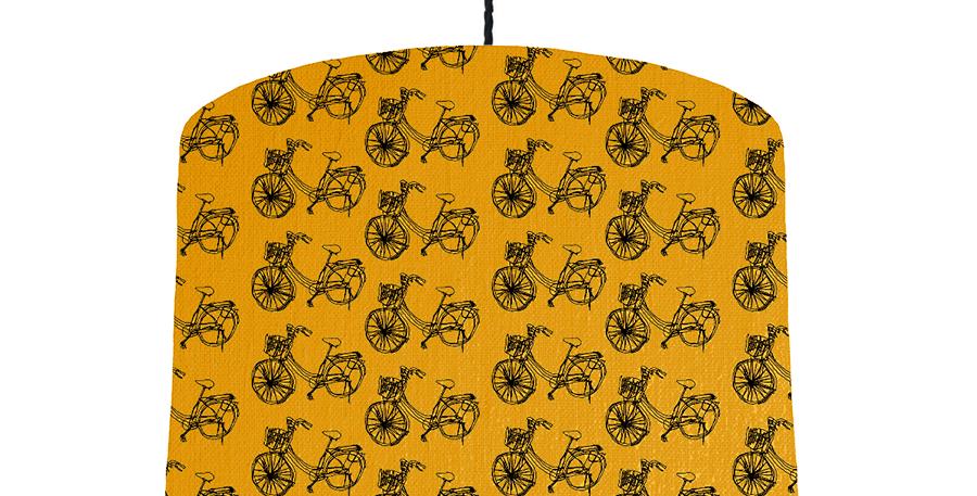 Bike - Mustard Yellow & White