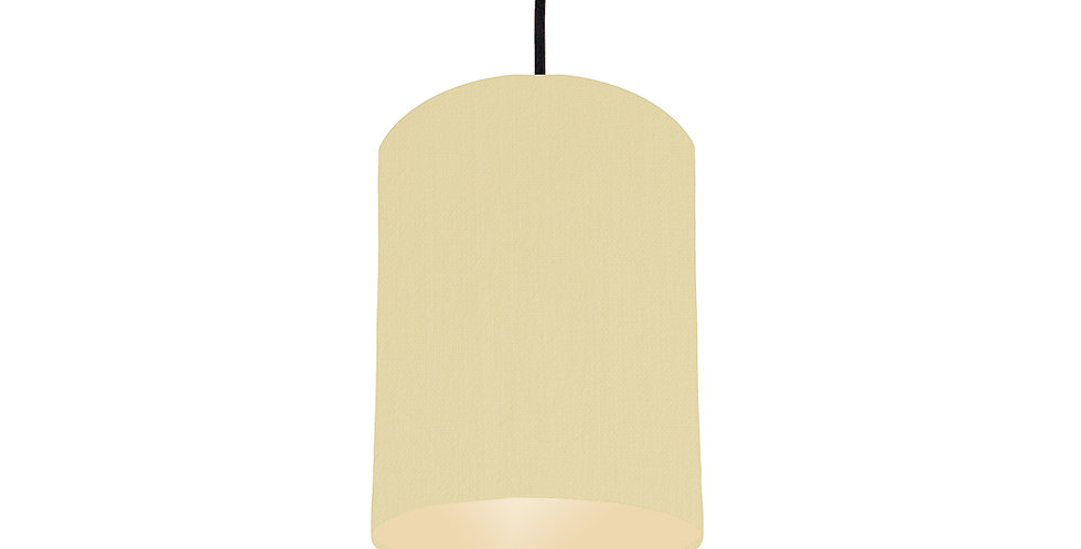 Natural & Ivory Lampshade - 15cm Wide