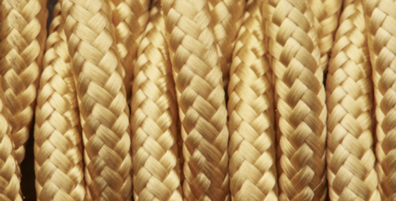 Yellow - Industville Twisted Fabric Cable