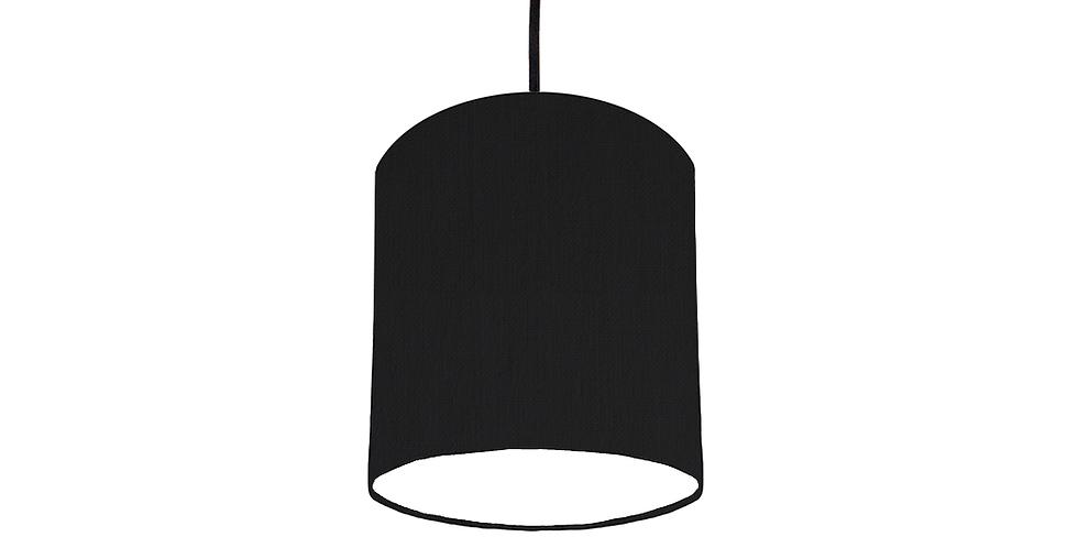 Black & White Lampshade - 15cm Wide
