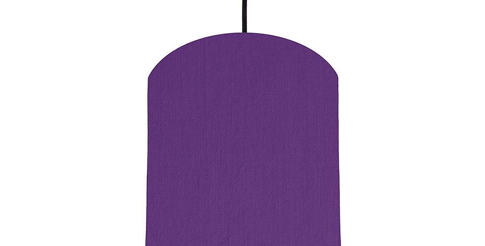Violet & Burgundy Lampshade- 20cm Wide