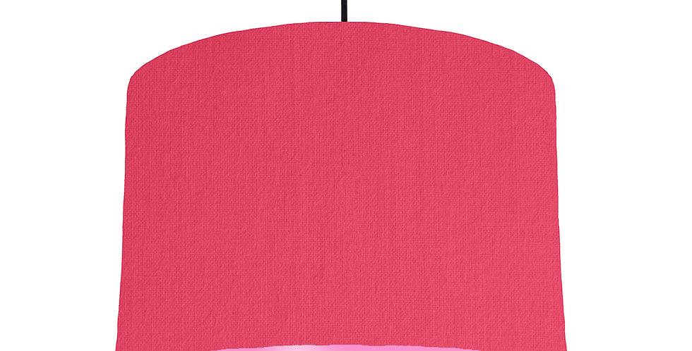 Cerise & Pink Lampshade - 30cm Wide