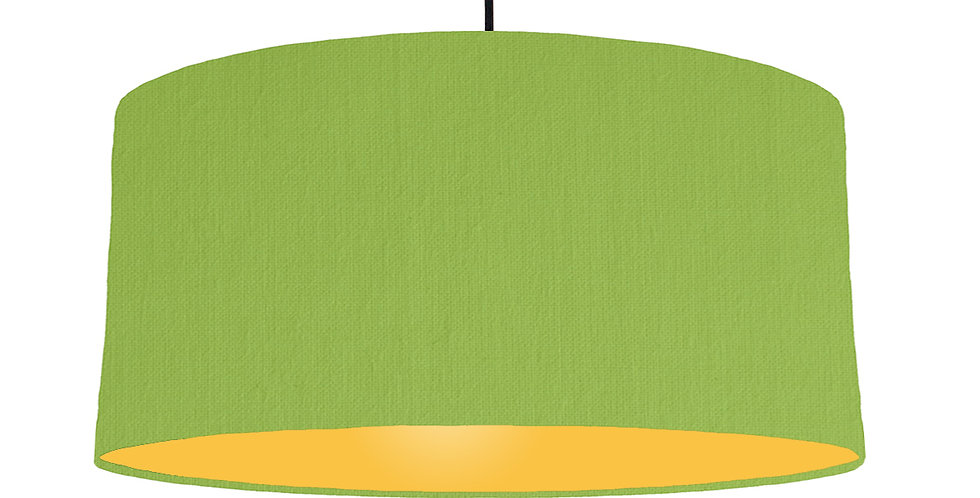 Pistachio & Butter Yellow Lampshade - 60cm Wide