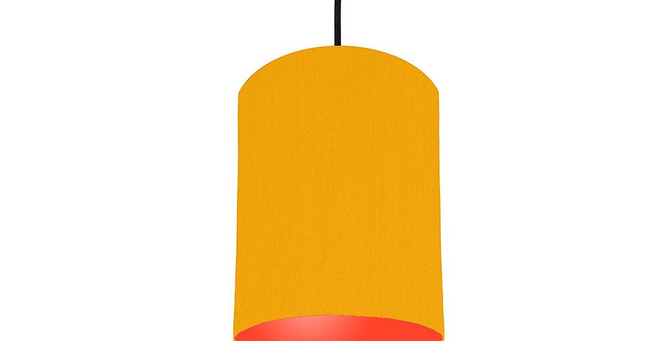 Sunshine & Poppy Red Lampshade - 15cm Wide
