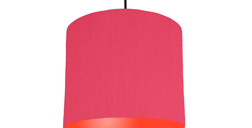 Cerise & Poppy Red Lampshade - 25cm Wide