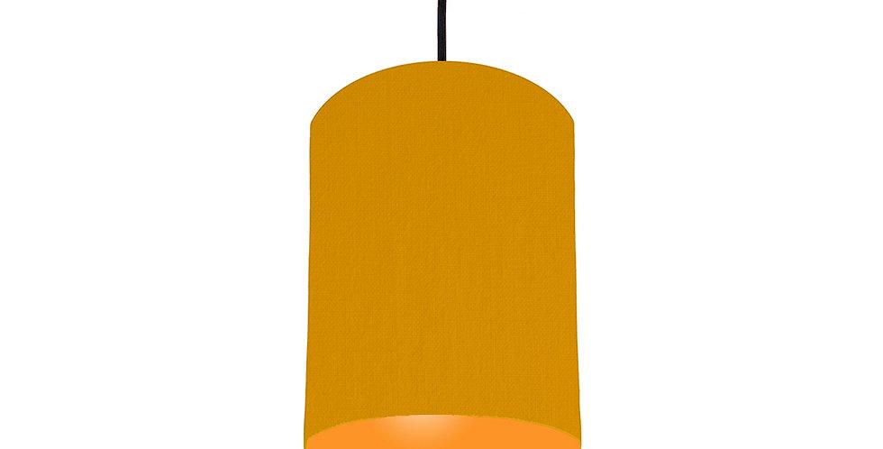 Mustard & Orange Lampshade - 15cm Wide