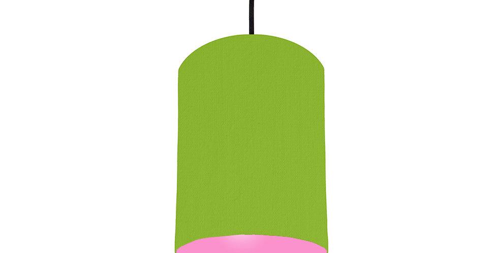 Pistachio & Pink Lampshade - 15cm Wide