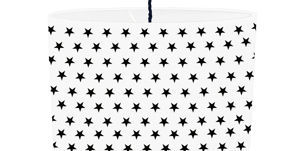 White Star Lampshade - White Lining