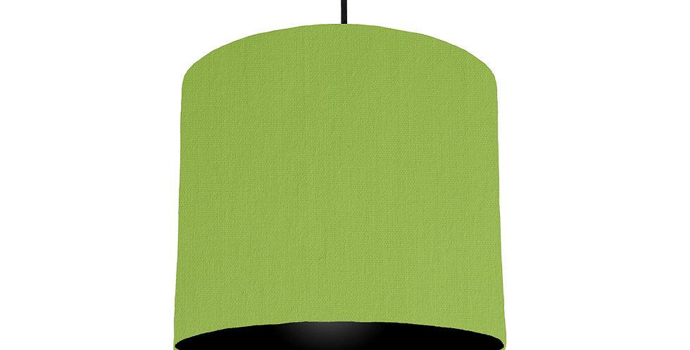 Pistachio & Black Lampshade - 25cm Wide