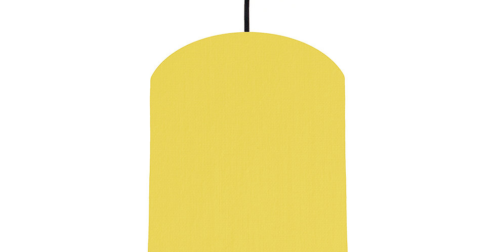 Lemon & Poppy Red Lampshade - 20cm Wide