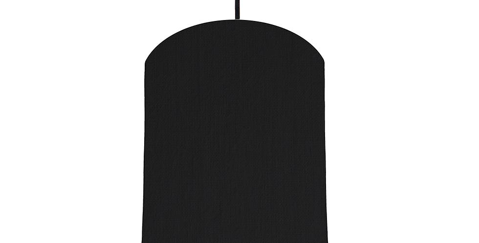 Black & White Lampshade - 20cm Wide